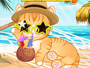 game My Cat Summer Holiday