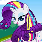 game My Little Pony Rarity Rainbow Power Style