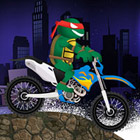 game Ninja Turtles Bike Challenge