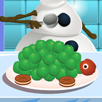 game Olaf Cooking Sea Turtle Ice Cream Cake