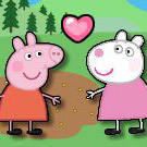 game Peppa Pig Friend Kiss