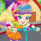 game Polly Pocket Scooter Racer