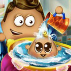 game Pou Baby Wash