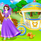 game Princess Carriage Wash