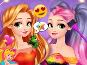 game Princess Design Your Rainbow Dress