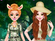 game Princess Girls Safari Trip