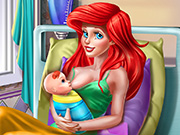 game Princess Mermaid Mommy Birth