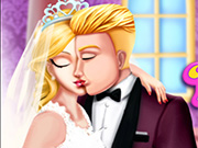 game Princess Wedding Kiss