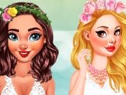 game Princess Wedding Theme Tropical