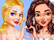 game Princesses As Gorgeous Bridesmaids
