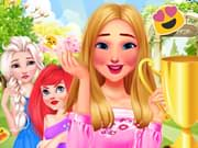 game Princesses Garden Contest