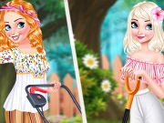 game Princesses Gardening In Style