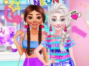 game Princesses Neon Fashion