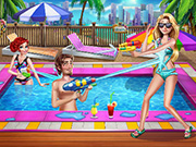 game Princesses Pool Party