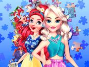 game Princesses Puzzle Portrait
