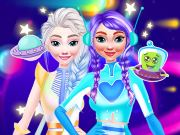 game Princesses Space Explorers