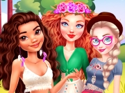 game Princesses Summer Glamping Trip