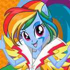 game Rainbow Rocks Rainbow Dash Dress Up