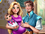 game Rapunzel and Flynn Happy Family