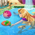 game Rapunzel Swimming Pool