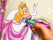 game Sleepy Princess Coloring Book