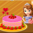game Sofia Cake Decoration