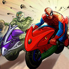 game Spiderman Hills Racer