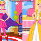 game Super Barbie And Princess Barbie