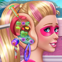 game Super Barbie Ear Doctor