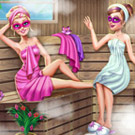 game Super Barbie Sauna Realife