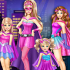game Super Barbie Sisters Transform