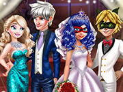 game Superhero Wedding Royal Guests