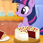 game Twilight Sparkle Cooking Red Velvet Cake