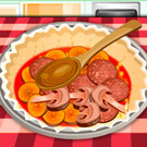 game Baking Pizza Pie