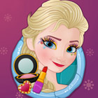 game Now & Then Elsa Makeup
