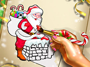 game Santa Christmas Coloring